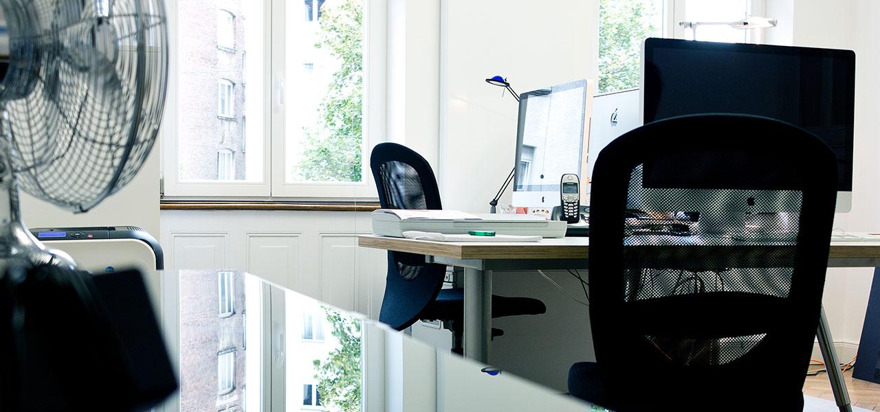 Aksis Werbeagentur und Internetagentur Ulm - Blogeintrag Aksis Büro - Arbeitsplätze