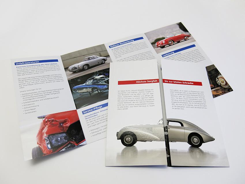 Aksis Werbeagentur und Internetagentur - Blogeintrag Imagebroschüre Faltbroschüre