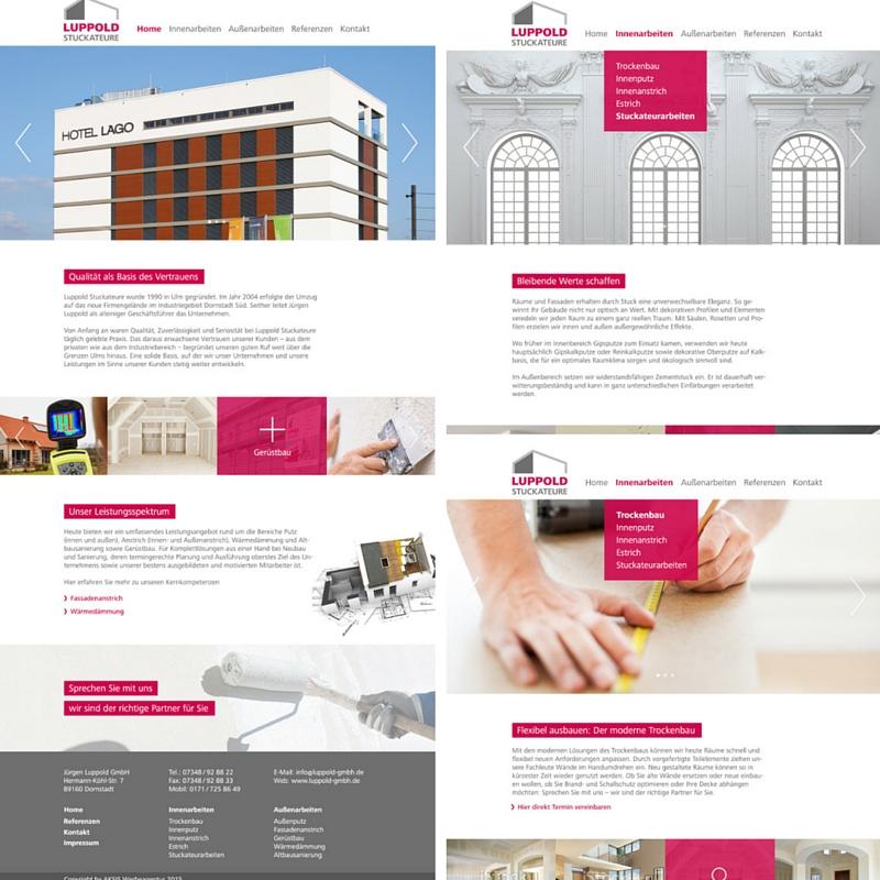 Aksis Werbeagentur und Internetagentur - Blogeintrag Responsive Website Luppold