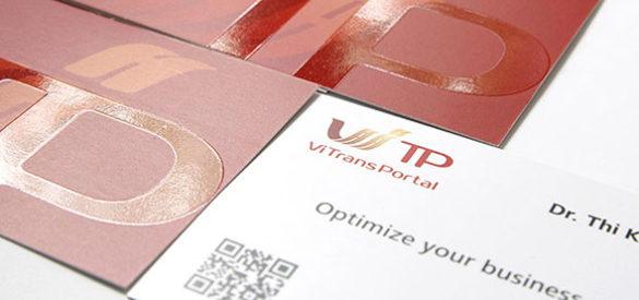 Visitenkarten der Vitransportal