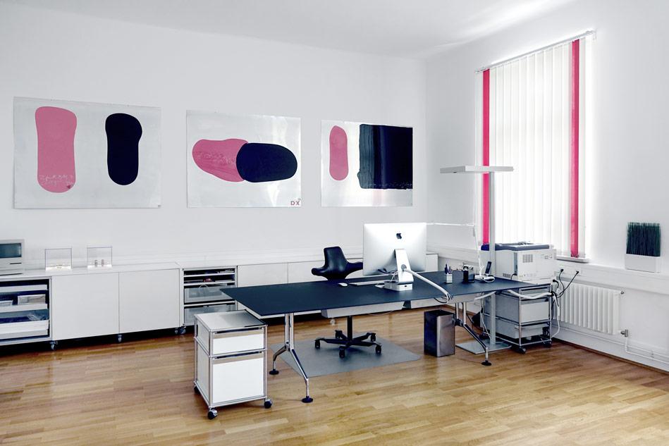 Kunst in Aksis Büro Räumen